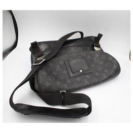 Louis Vuitton-Louis Vuitton Messenger Bag , in eclipse LV monogram.-Black,Grey,Dark grey