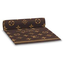 Louis Vuitton-serviette de plage neuve-Marron