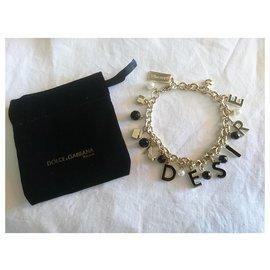 Dolce & Gabbana-DESIRE Bracelet-Golden