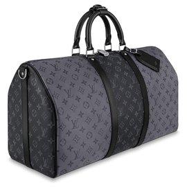 Louis Vuitton-LV Keepall 50 reverse-Grey