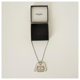 Chanel-Necklaces-Silvery,White