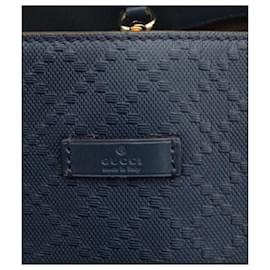 Gucci-Sac cabas en strass brillant-Bleu