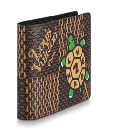 Louis Vuitton-LV multiple wallet-Brown
