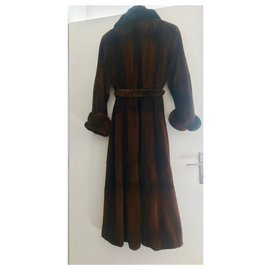 Rebecca-Coats, Outerwear-Cognac
