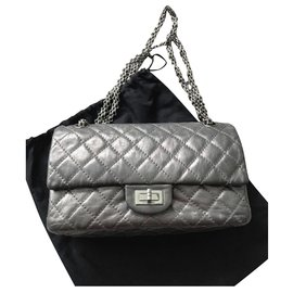 Chanel-Chanel 2.55 Reissue 225 classic bag-Grey