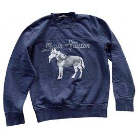 Louis Vuitton-Sweaters-Navy blue