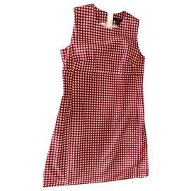 Louis Vuitton-Dresses-White,Red