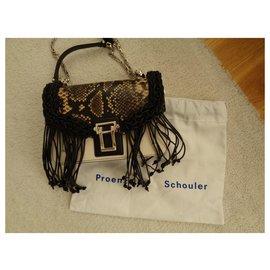 Proenza Schouler-Handbags-Cream