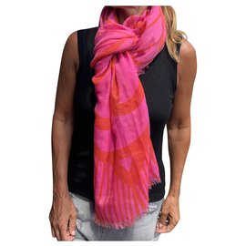 Chanel-Scarves-Pink