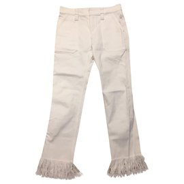 Chloé-Chloé white jeans-White