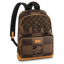 Louis Vuitton-Louis Vuitton, LV x Nigo Campus backpack-Brown