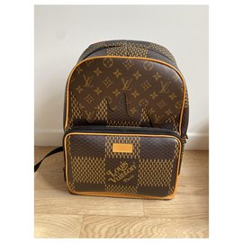 Louis Vuitton-Campus backpack-Brown