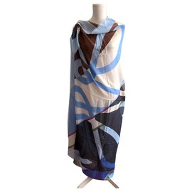 Loewe-Printed large stole-Multiple colors