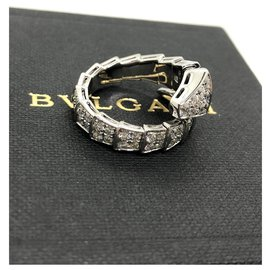 Bulgari-Bulgari Serpenti Diamond ring sz53-Autre