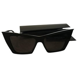 Yves Saint Laurent-Sunglasses-Black