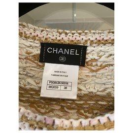 Chanel-Chanel Paris Dubai dress-Caramel