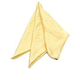Hermès-Hermes Yellow Faconnee Grand H Scarf-Yellow