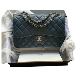 Chanel-Jumbo Chanel-Navy blue