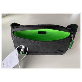 Prada-Nylon Belt Bag-Black
