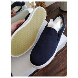 Céline-sneakers-Bleu foncé