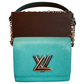 Louis Vuitton-Louis Vuitton Twist PM Turquoise-Turquoise