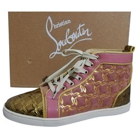 Christian Louboutin-Sneakers-Pink