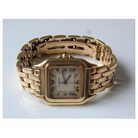 Cartier-Cartier panthère Or watch 18K-Golden