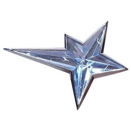 Thierry Mugler-Pins & brooches-Silvery