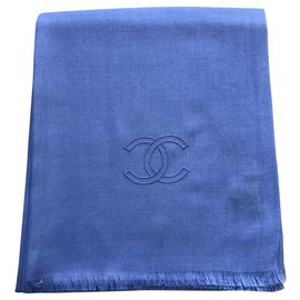 Chanel-Sciarpa Chanel-Blue