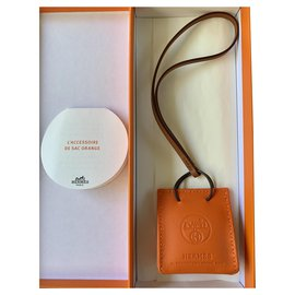 Hermès-Charm sac de transport orange-Orange