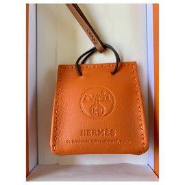 Hermès-Charm sac de transport orange-Orange