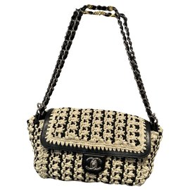 Chanel-TIMELESS-Black,Beige