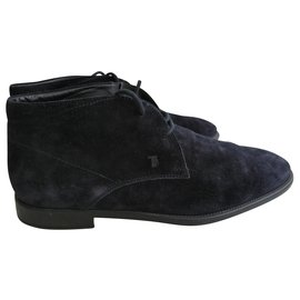 Tod's-Boots-Blue