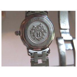 Hermès-clipper-Argenté