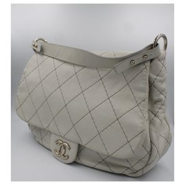 Chanel-Chanel Shoulderbag grey-Grey
