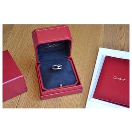 Cartier-Bague Cartier Juste un Clou en or blanc-Argenté