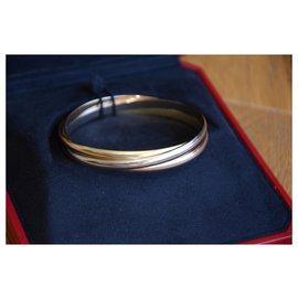 Cartier-Bracelet Cartier Trinity moyen modèle-Doré