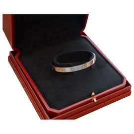 Cartier-Bracelet Cartier Love en or blanc-Argenté