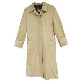 Burberry-Burberry vintage t women's raincoat 36/38-Beige