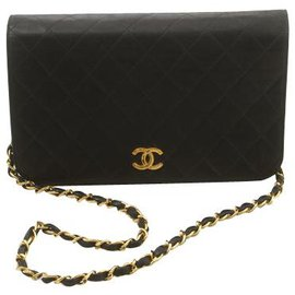 Chanel-Chanel Wallet on Chain-Black