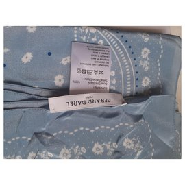 Gerard Darel-Scarves-Light blue