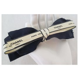 Chanel-BAR KNOT-Navy blue