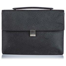 Louis Vuitton-Louis Vuitton Black Taiga Robusto-Black