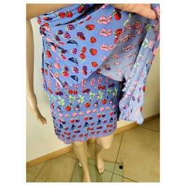 Versace For H&M-Dresses-Purple