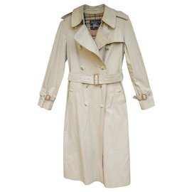Burberry-womens Burberry vintage t trench coat34/36-Beige