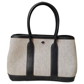 Hermès-Handbags-Black,Grey