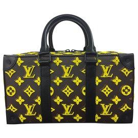 Louis Vuitton-Trunk Speedy-Yellow