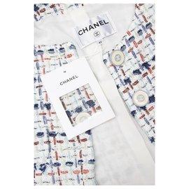 Chanel-nouvelle veste en tweed Lesage-Multicolore
