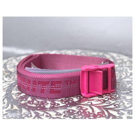 Off White-Belts-Pink