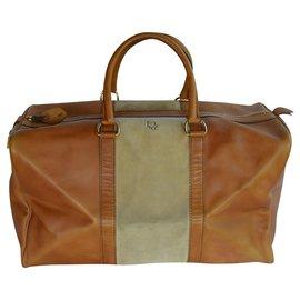 Christian Dior-Travel bag-Caramel